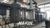 Feito no petróleo Waste usado China que recicl a destilação da máquina