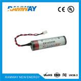3.6V 2200mAh Batería de litio para los detectores de gas (ER14505M)