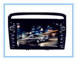 BACCANO dell'automobile DVD due per Peugeot 408 con GPS+Bluetooth+iPod