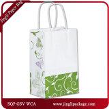 Tous les sacs en papier à boutons carrés Flutter Shoppers