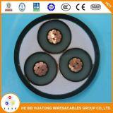 De middelgrote Kabel van de Macht van de Kabel van de Macht van het Voltage Ondergrondse 11kv 15kv 33kv XLPE