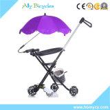3/5 младенцев Trikes колес с ездой штанги/компакта нажима на трицикле игрушки с зонтиком