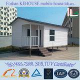 ISOの速い造りプレハブモジュラー移動可能な斜面の屋根のプレハブの家