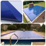 De anti-uv Waterdichte Met een laag bedekte Dekking van de Veiligheid van het Zwembad van het Geteerde zeildoek