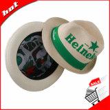 Chapéu de palha de papel tecido de papel do chapéu do chapéu de palha do chapéu