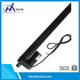 Actuador linear eléctrico negro resistente aleado aluminio con el potenciómetro China