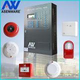 Painel de Controle endereçável com Sistema de Alarme de Incêndio