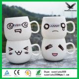 L'abitudine rinforza la tazza di ceramica bianca di sublimazione in bianco