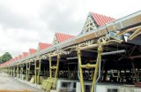 Het Project van de Overheid van de Bouw van de Structuur van de Koepel van het staal in de Afrikaanse Landen van Mauritius