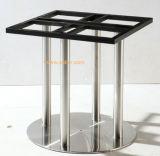 (SC-732) Restaurante moderno mobiliário jantar pernas da mesa-redonda de Aço Inoxidável