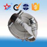 Tubo flessibile di lotta antincendio del PVC con l'accoppiamento russo del GOST