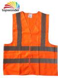 Personalizar vários tamanhos, logótipos, desenhos, colete de segurança reflexivo, Segurança reflexivo Veste roupas de segurança refletora