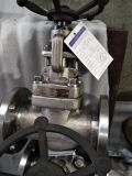 A105 ha forgiato la valvola di globo della guarnizione dei soffietti dell'acciaio