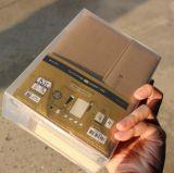Notizbuch Belüftung-Kasten, der Maschine klebt