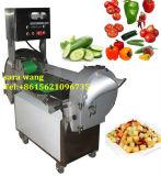 Отрезать фрукт и овощ, вырезывание прокладки и Dicing машина