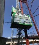 Ascenseur de la construction Sc100/100/élévateur de construction avec deux portes