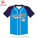 Healongの熱い販売のスポーツの摩耗のカスタム昇華野球ジャージー
