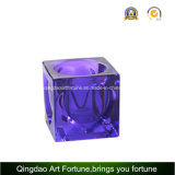 Cube Tealight стекла при свечах держатель Afch-T6568