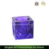 Cube Tealight Candelabro de vidro Afch-T6568