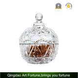 Tarro de cristal del Cloche de la venta caliente con la bóveda para la decoración casera de la Navidad