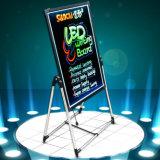 Cartelera derecha al aire libre de la escritura de la tablilla de anuncios LED