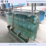 puerta de cristal de 10m m Temperd con el vidrio de flotador de la alta calidad