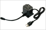 米国Plugとの12W-60W OutdoorかWaterproof AC/AC Linear Adapter