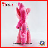Cavalo de pelúcia Rosa animais taxidermizados Unicorn Plush Unicorn Peluche