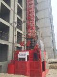 Hijstoestel van de Bouwers van de Kooi van Ce 2t het Dubbele die in China wordt gemaakt