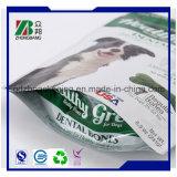 Sac en plastique personnalisé en plastique à papiers peints avec fermeture à glissière