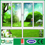 Precio de la ventana de desplazamiento de aluminio