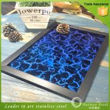 430 Color espejo decorativo de grabado de chapa de acero inoxidable
