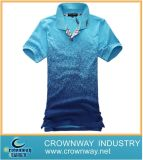 Entwerfer-Form-Polo-T-Shirt der Großhandelsmänner spätestes