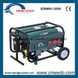 Портативный бензиновый генератор с помощью ручки и колеса (WD2505)