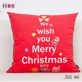 Kundenspezifischer Drucken-dekorativer Kissen-Deckel für Weihnachten