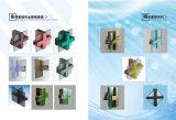 Profils en aluminium pour le système de façade/porte/mur rideau