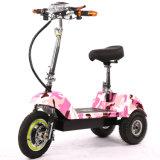 E-Vespa adulta de la movilidad de tres ruedas con el motor 350W