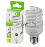 Lampada piena chiara economizzatrice d'energia di spirale CFL del T2 15W 20W 25W