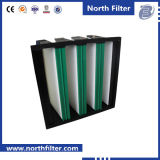 F7 V-Shapeのコンパクトの中型のガラス繊維フィルター