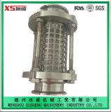glas van het Gezicht van de Pijpleiding van de Rang van het Voedsel van het Roestvrij staal Ss316L van 76.2mm het Sanitaire Rechte