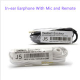 Verdrahtete InLuft J5 Stero Earpods für Smartphone 3.5mm Kopfhörer