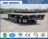 Cimc 3 Eixo 40FT Flatbed Container Semi Truck Trailer