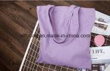 Saco de compra personalizado relativo à promoção do algodão do logotipo, saco de Tote da lona 10A (Fly-CB0083)