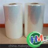 Film clair d'enveloppe de rétrécissement de la chaleur dans une Rolls