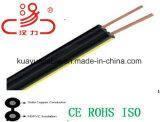 18 AWG Cable 2c Drop Wire / Câble d'ordinateur / Câble de données / Câble de communication / Connecteur / Câble audio