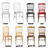 Gold PC Resin Wedding Napoleon Chair