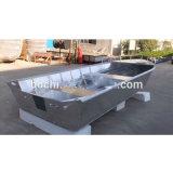 V tipo barche di alluminio utilizzate