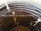 Lisser ou boyau hydraulique de tresse du fil 1sn/R1at un d'en 853 DIN couvert par tissu