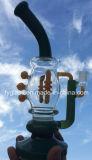 Conduites d'eau en verre matérielles colorées par Etats-Unis neuves de type pour la fumée de tabac