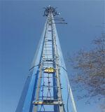 ربطت [رود] رئيسيّة من السلّم بشكل ثابت مع الدعم إطار من برج [مونوبول]